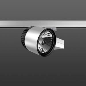 Strahler LED/20W-3000K 227x146, DALI, engstr., 2150 lm