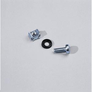 Befestigungsmaterial zur Montagevon 482,6 mm (19)-Komponenten(je 50 Schrauben M6,Käfigmuttern,Unterlegscheiben)