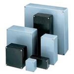 GEH.KPL.CP -140, Polyestergehäuse mit Deckelschrauben, IP66, RAL 7000 (fehgrau), Aussenmasse: 80 x 75 x 55