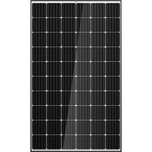 300 Watt PV-Modul, monokristallin PERC, schwarz/weiß, 5BB