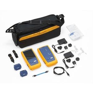DSX-600-PRO INTL, DSX-600 500 MHz CableAnalyzer mit DTX-PLA004S Permanent Link-Adaptersatz. Nur Kupfermodell.
