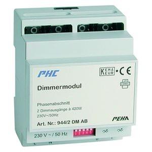 D 944/2 DM AB, Dimmermodul für Phasenabschnitt, 2 x 420 W