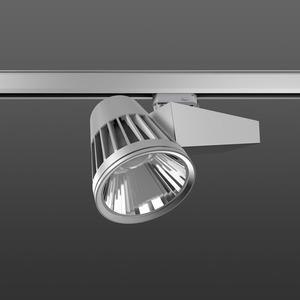 Strahler LED/45W-2700K 290x120, DALI, engstr., 4350 lm