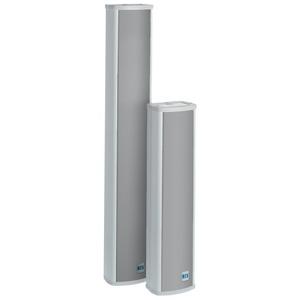 Lautsprechersäule, 24/12 W, 100 V, aus Aluminium
