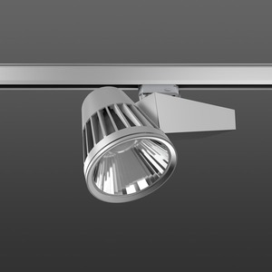 Strahler LED/45W-2000K 290x120, DALI, engstr., 2300 lm