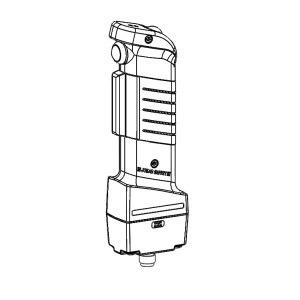 JSHD4-2-AF, 3-Stellungs-Zustimmschalter mit LEDs, Zusatztaster vorne und oben