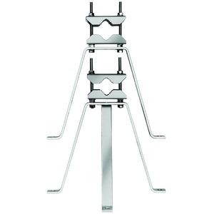 triax 350600 gh 25 giebelhalterung wandausleger 25cm rohre bis 60mm durchmesser stahl. Black Bedroom Furniture Sets. Home Design Ideas