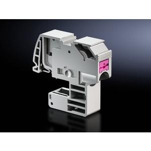 SV 3456.505, Leiteranschlussklemme (push-in) für Rundleiter 1,5-4  mm², Schienenstärke 10 mm, Preis per VPE, VPE = 10 Stück