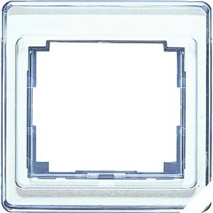 SL 581 SI, Rahmen, 1fach, aus transparentem Acrylglas, farbig hinterlegt