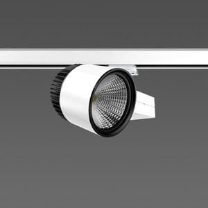 Strahler LED/45W-3000K 227x146, DALI, breit, 4450 lm
