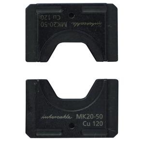 MK22-50, Sechskanteinsatz für Cu-Presskabelschuh u. -verbinder nach DIN 150qmm, Kz.22, Serie 50 u. 60-1/3