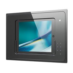 iDock Touchcode/schwarz/110-230V/Blende Glas schwarz für Ipad Air