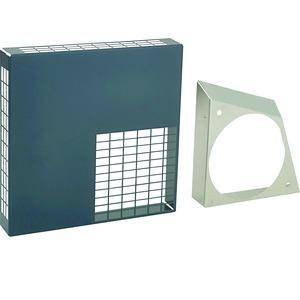 Wanddurchführung 161, Ansaug-/Ausblasgitter LWF LGK 125-160, Aluminium, anthrazit
