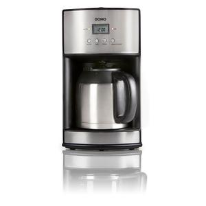 Kaffeeautomat Edelstahl m. Timer