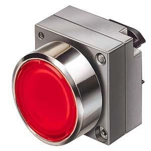 3SB3500-0AA71, Drucktaster, 22mm, rund