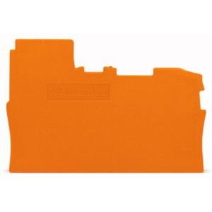 Abschluss- und Zwischenplatte 0,8 mm dick orange