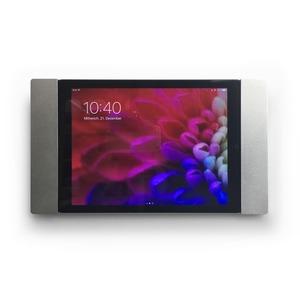 """sDock Fix Air, Wandhalterung für iPad Air 1+2, iPad Pro 9,7"""" für permanente iPad-Installationen, Ladestation.  Abschließbar.Sehr flach, nur 12 mm"""