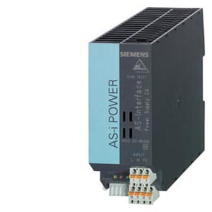 3RX9501-1BA00, AS-I Power 3A DC24V IP20, AS-I Netzteil, in:DC24V, out:AS-Interface, 3A (DC 30V)