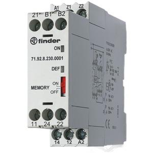 71.92.0.024.0001, Thermistorrelais, 2 Wechsler 10 A, Fehlerspeicher und Reset, für 24 V AC/DC