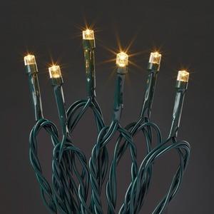 Lichterkette 40 LED ww Trafo mit Timer aussen