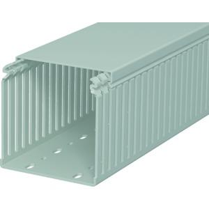 LKV 100100, Verdrahtungskanal 100x100x2000, PVC, steingrau, RAL 7030