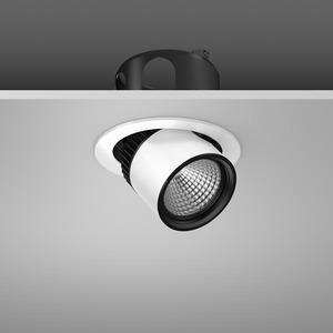 Einbaustrahler LED/27W-3100K D155, breitstr., 2200 lm