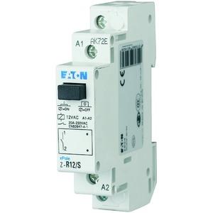 Z-R12/S, Installationsrelais, 12VAC/50Hz, 1S, 20A