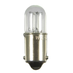Röhrenlampe 10x28mm Doppelinnenkostrukt. Æ, BA9s 110-130V 20mA long life