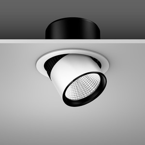 Einbaustrahler LED/27W-3000K D180, H170, breit, 2850 lm