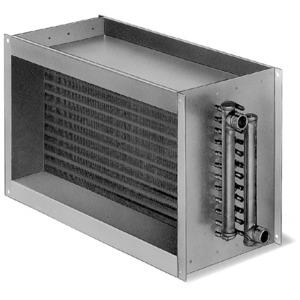 WHR 2/70/40, WHR 2/70/40, Warmwasser-Heizregister für Rechteck-Kanäle