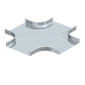 RK 650 FS, Kreuzung horizontal, runde Bauform 60x500, St, FS