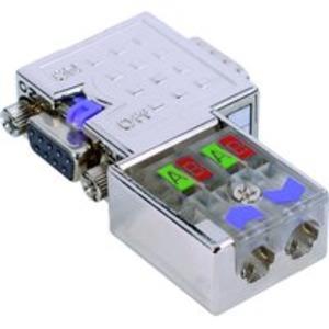 PB_DP-Stecker_90° 12MBit,PG-Bu schaltb.Abschlußwid.