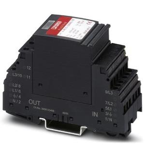 PT 4-PE/S-230AC/FM, Stecker für 5-Leiternetze TT und TN-S, 36mm breit