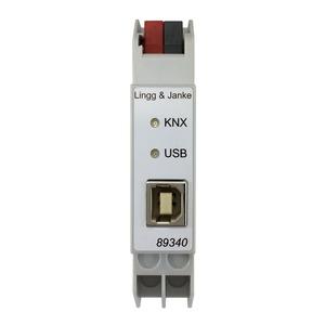 KNX standard USB Schnittstelle, 1 TE;