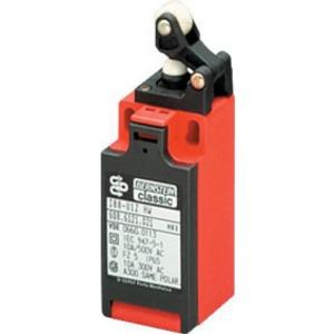I88-U1Z W, Isolierstoffgekapselter Positionsschalter, Schleichkontakt, Stösseleinrichtung, nach DIN EN 50047, IP65, Kabeleinführung M20