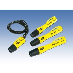 MICRO-HANDLEUCHTE 1 LED, Batteriehandleuchte EX LED Thermoplastgehäuse gelb Typ: LYM-10