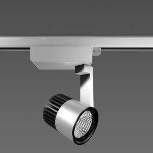 Strahler LED/33W-3000K 258x93x249,3Ph, breit, 2850 lm