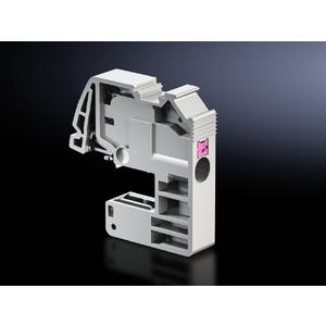 SV 3455.505, Leiteranschlussklemme (push-in) für Rundleiter 0,5-4 mm², Schienenstärke 10 mm, Preis per VPE, VPE = 10 Stück