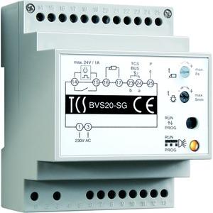 Versorgungs- und Steuergerät für Audio-Anlagen an 1 Strang, Hutschiene 4 TE