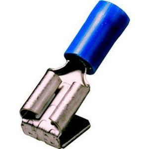 Steckverteiler 1,5 - 2,5 mm², isoliert, Farbe blau