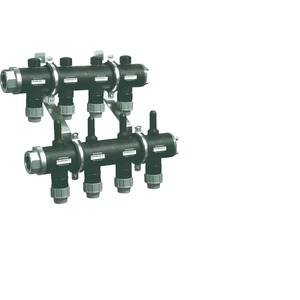 WPSV 40-4, Soleverteiler WPSV 40-4, Vor-/Rücklaufverteiler