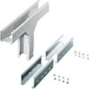 KT ST 10, Kabelträger-T-Abzweig, senkrecht, 100 mm breit