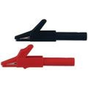 SAGK4-K, 4mm Sicherheits-Abgreifer schwarz