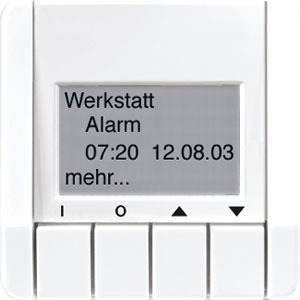 CD 2041 WW, Info-Display, 4 Tasten, 4-zeilige Anzeige, Textspeicher (maximal 12 Seiten)
