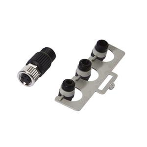 kabeldose M8,kurz,kabel 2,5-5,1rund