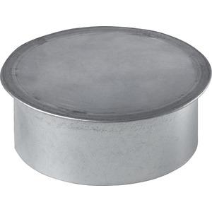 LWF ED 100, Enddeckel DN 100, Stahlblech verzinkt