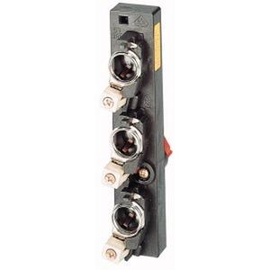 RS183-50, Reiter-Sicherungssockel, 3p, 63A, 488V, DII/E18, Passring