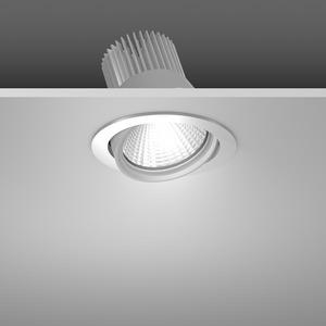 Einbaustrahler LED/39,2W-3100K D157, H142, dim.DALI, 3900 lm