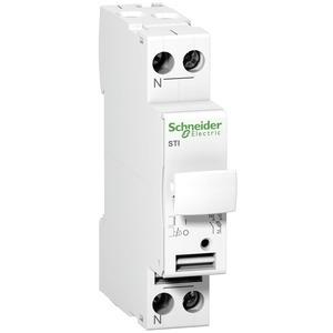 Sicherungsträger STI, 1-polig+N, bis 25A, für Sicherung 10,3x38mm