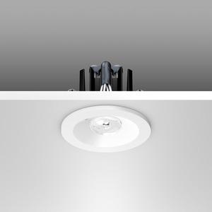Notleuchte Einbaudownlight LED/1,8W D61, m.AC-Control, 160 lm
